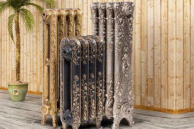 Фото - Современные стилизованные чугунные радиаторы