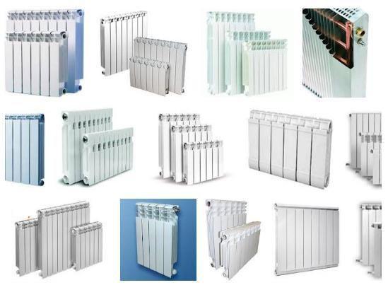 Фото - радиаторы отопления