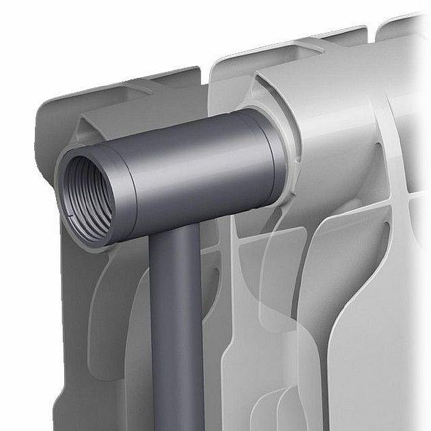 Фото - стальные трубы в оребрении из силумина