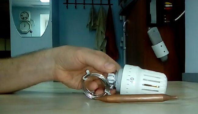 фото - Термоголовка с выносным датчиком