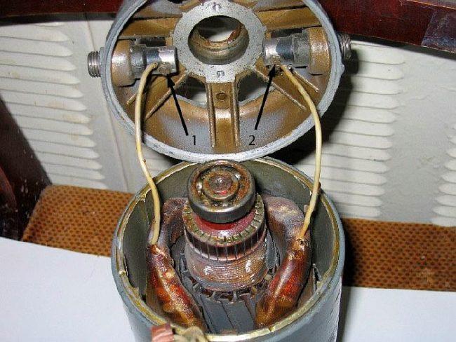 Фото - Коллекторный двигатель