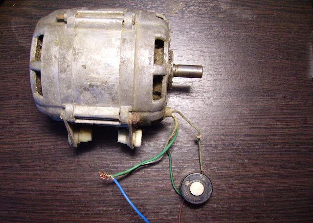 Фото-Схема запуска двигателя с помощью кнопки
