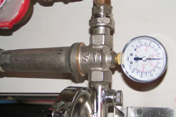 Фото - недостаточное давление в системе отопления