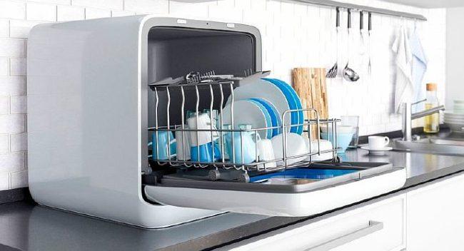 Фото - компактная посудомойка без водопровода